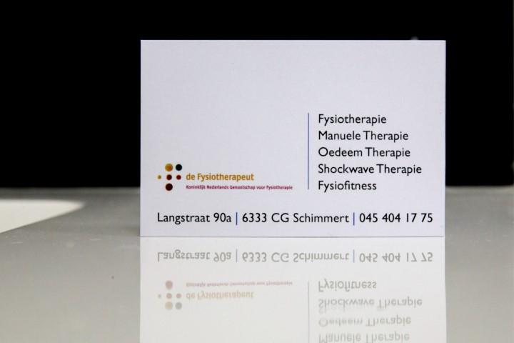 Fysio Schimmert Contact